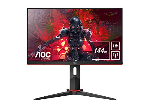 AOC 24G2U/BK Monitor Gaming de 24' Full HD e-Sports (IPS,...