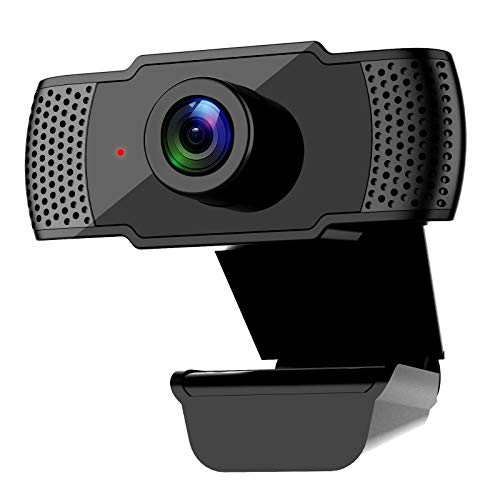 Kasily 1080P Webcam with Microphone, Kasily Full HD Laptop...