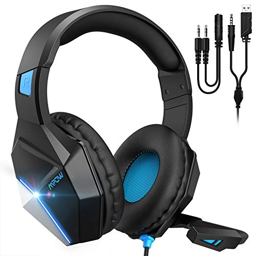 Mpow EG10 Auriculares Gaming para PS4, PC, Xbox One, Switch,...